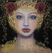 """Danae and the shower of Gold"" ~ SOLD"